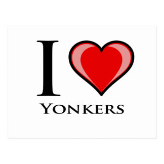 I Love Yonkers Postcard