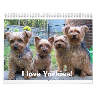 I love Yorkies! Calendars