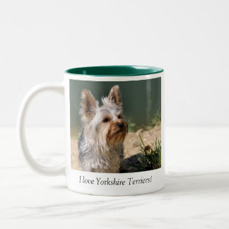 I Love Yorkshire Terriers Mug