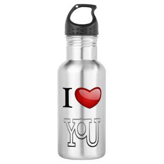 I Love You 532 Ml Water Bottle