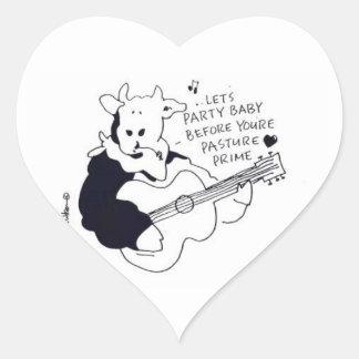 I love you, a girl friend or boy friend heart sticker