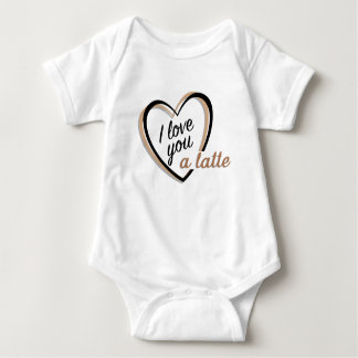 I love you a latte | Baby bodysuit