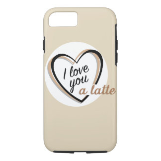I love you a latte | Case-Mate iPhone case