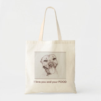 I love you and your FOOD Tote Bag