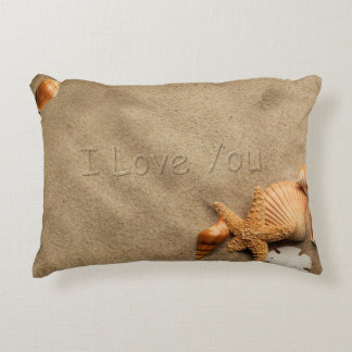 I Love You Beach Pillow