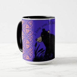 I love you BEARY much! Mug