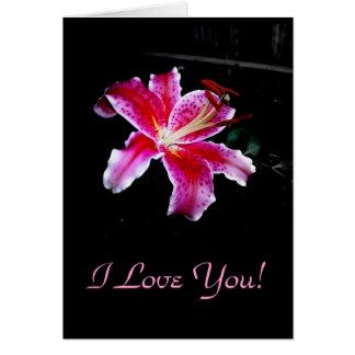 I Love You!, Blank Card