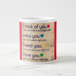 I love YOU but...Coffee/Tea Mug