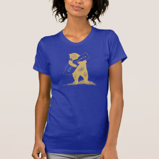 I Love You California--Blue and Gold T-Shirt