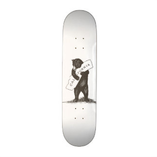I Love You California Custom Skateboard