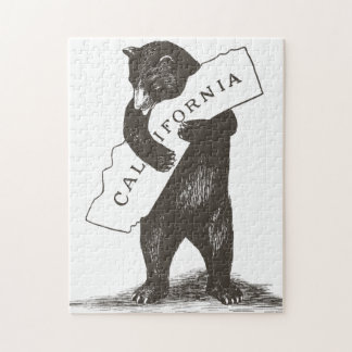 I Love You California Jigsaw Puzzle