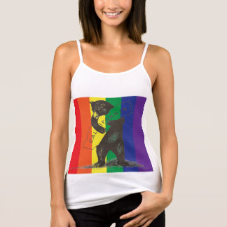 I Love You California--Rainbow Tank Top