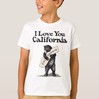 I Love You California T-Shirt