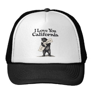 I Love You California Trucker Hat