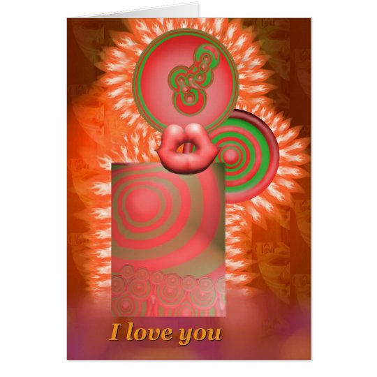 I love you card by Anjo Lafin