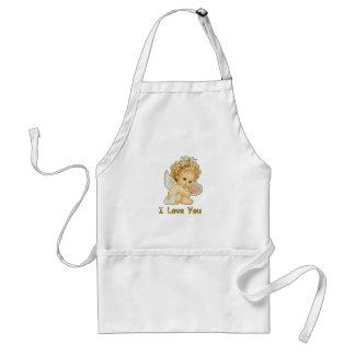I love you cherub standard apron