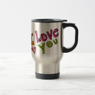 I Love You Commuter Mug