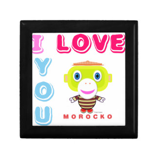 I Love You-Cute Monkey-Morocko Gift Box