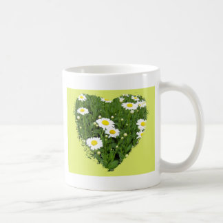 I Love You Daisy Heart Mug