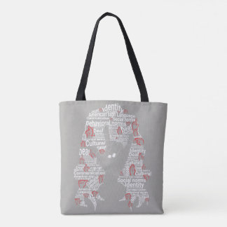 I Love You (deaf culture) Tote Bag