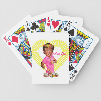 i love you donald trump bicycle playing cards