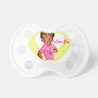 i love you donald trump pacifier