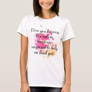 I love You Encouragment Adoption, Foster Care T-Shirt