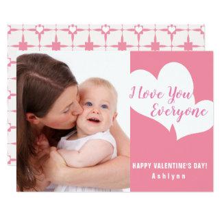 I Love You Everyone | Valentine's Day Photo Card