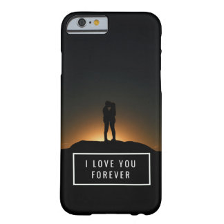 I Love You Forever Custom Name and Custom Photo Barely There iPhone 6 Case
