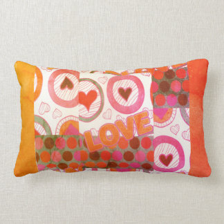 I Love You From My Heart Lumbar Pillow