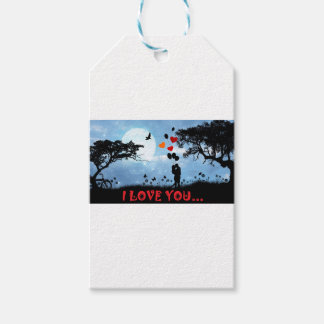 I LOVE YOU GIFT TAGS