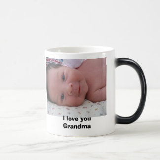 I love you Grandma Magic Mug