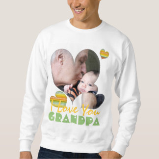 I love you grandpa photo t-shirt