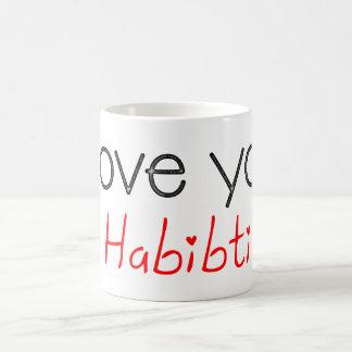 I love you habibti coffee mug