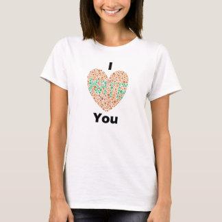 I Love You I Hate You Color Blind T-Shirt