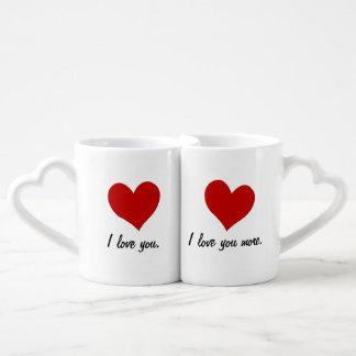 I Love You, I Love You More Coffee Mug Set