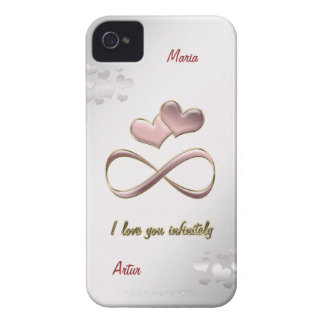 I love you infinitely iPhone 4 Case-Mate case