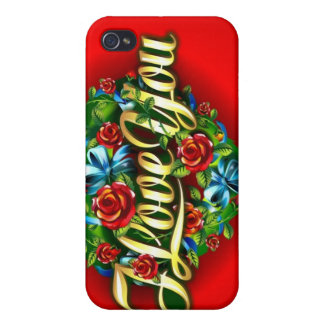 I Love You iPhone 4 Speck Case Case For The iPhone 4