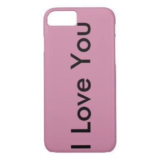 I love you iPhone 7 case