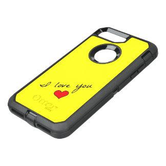 I Love You iPhone 7 Plus Case