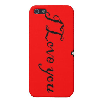 I love you iphone case case for the iPhone 5