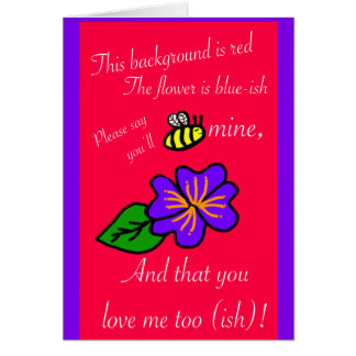 I love you-ish Valentine's Day Card