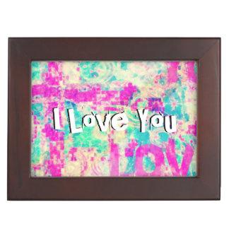 I Love You JESUS Keepsake Box