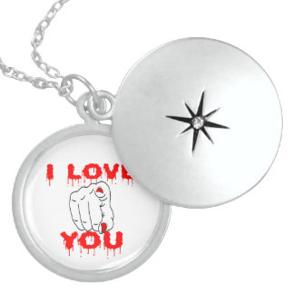 I Love You Locket Necklace