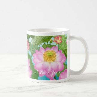 I Love You Lotus Mug
