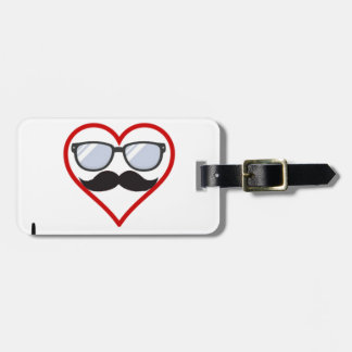I Love You Luggage Tag