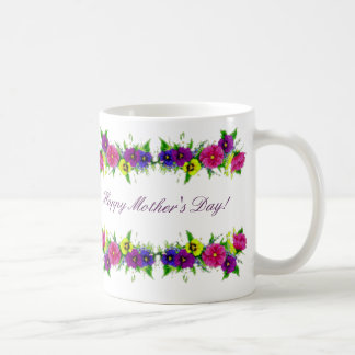 I love you, Mom! Basic White Mug