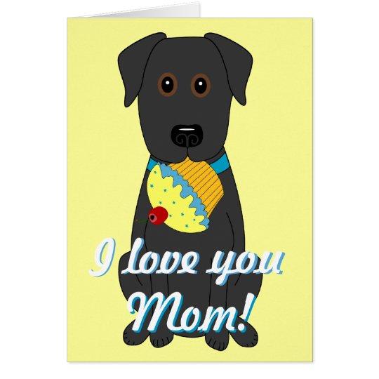 I love you Mom! Card