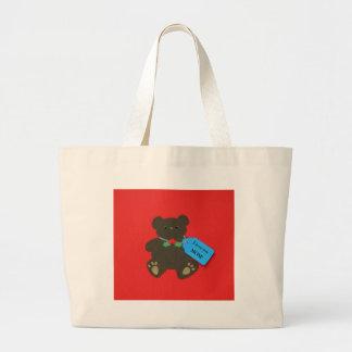 I love you Mom! Jumbo Tote Bag