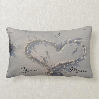 I Love You Mom Lumbar Pillow